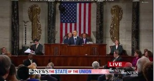 SOTU 2015 Realtime reporter thanked by President Obama